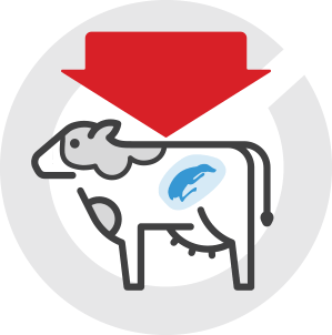 Decreased reproductive performance icon