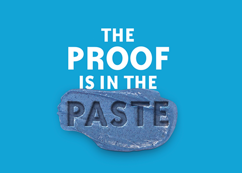 The proof is in the paste